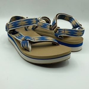 Teva Universal HDBK Midform Tan Sandals